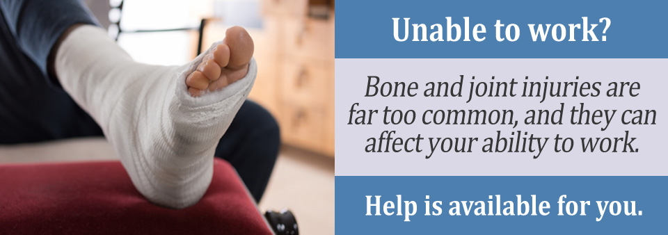 How common are bone and joint injuries?
