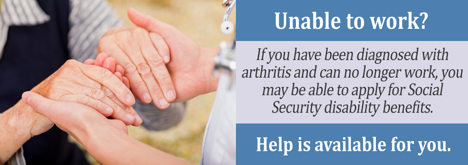 If your Rheumatoid Arthritis is keeping you from working, you may qualify for Social Security disability benefits