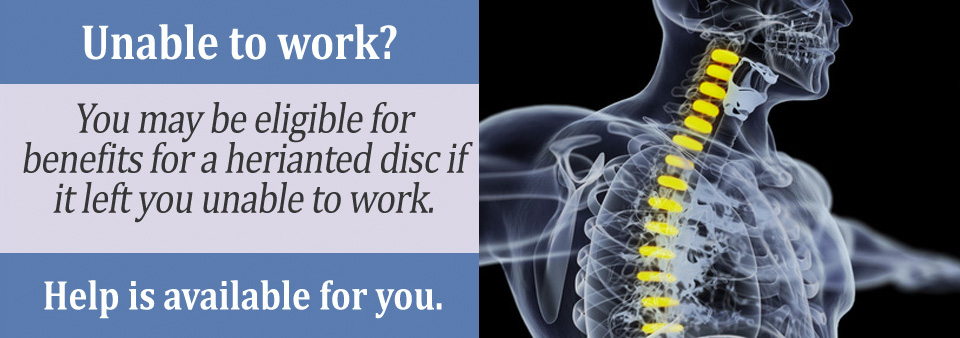Blue Book Listing For Herniated Discs