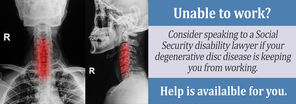 Medical Criteria for Degenerative Disc Disease