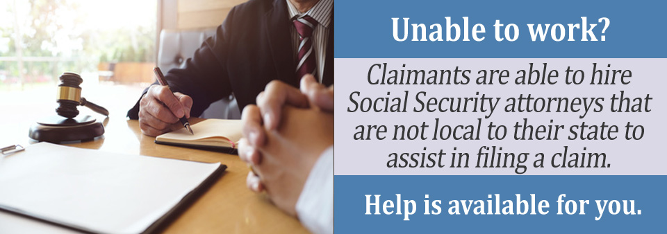 Can I Work with a Social Security Attorney in Another State?